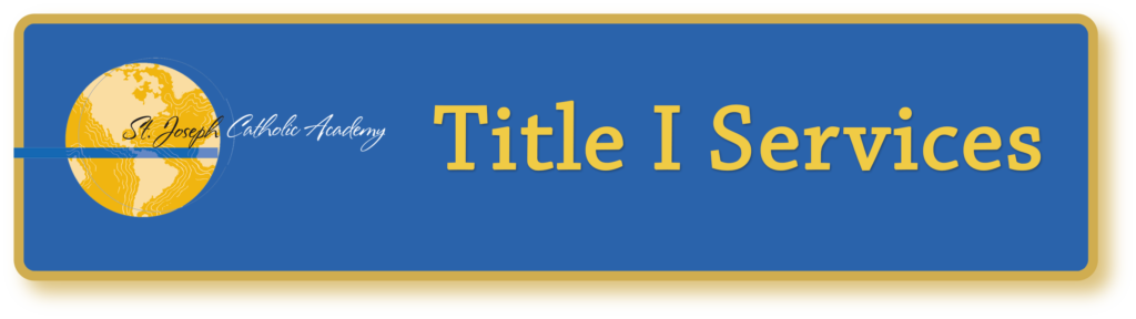 St. Joseph Catholic Academy title one