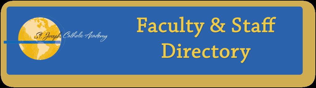 St. Joseph Catholic Academy directory