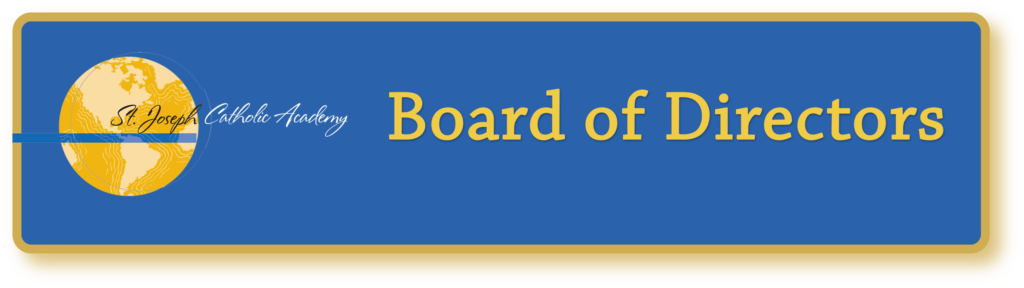 St. Joseph Catholic Academy board of directors