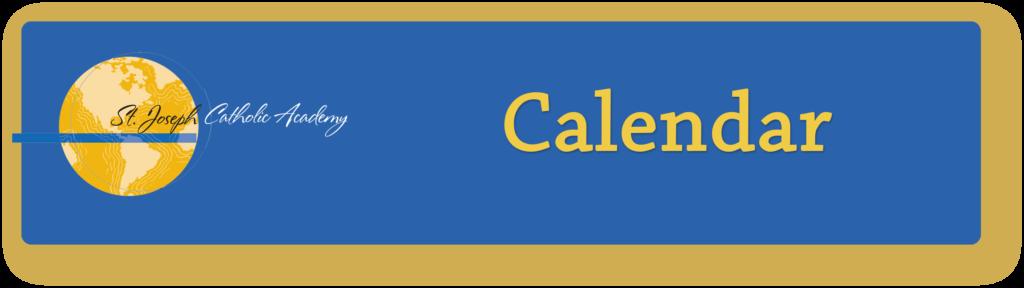 St. Joseph Catholic Academy calendar